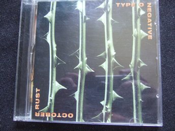 CD - TYPE O NEGATIVE. October Rust. 1996