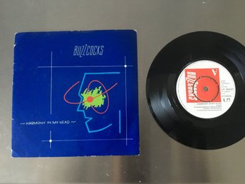 BUZZCOCKS / HARMONY IN MY HEAD / VINYL SINGEL FRÅN 1979.