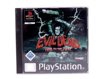 Evil Dead: Hail To The King - PS1 - PAL (EU)