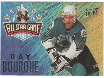 ULTRA 94-95 All Star Game # 01 BOURQUE Ray