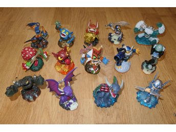 Skylanders 14st mindre GIANTS figurer