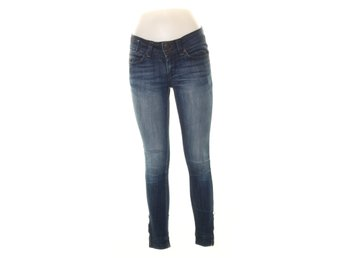 Perfect Jeans Gina Tricot, Jeans, Strl: 23/32, Blå