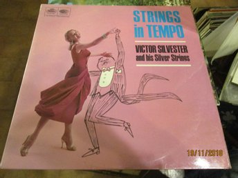 VICTOR SILVESTER AND HIS SILVER STRINGS - STRINGS IN TEMPO - LP