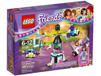 "LEGO Friends 41128 ""Amusement Park Space Ride"" - helt ny / oöppnad!"