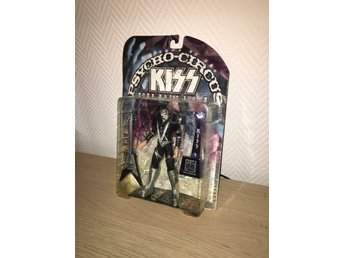 Kiss - Ace psycho circus figurin error version har Pauls V- gitarr