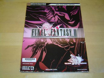 FINAL FANTASY 2 GUIDE BRADY GAMES SONY PSP *NYTT*