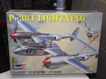 Revell 1:48 P38J Lightning