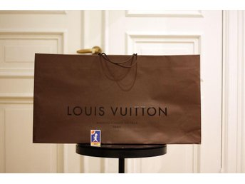 Stor original Louis Vuitton påse
