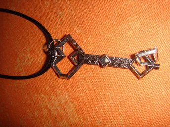 Lord of the Rings Hobbit, halsband nyckel