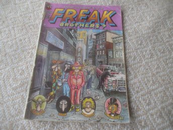 Freak Brothers #4 (Can You Spare $1 For the Freak Brothers?)