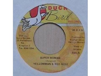 Yellowman & Red Rose title*  Super Woman* Jam  7""