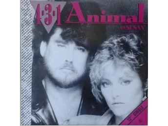 4-3-1 titel*Animal* Electronic, Disco Netherlands 12""