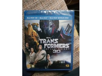 Ny Transformers - The Last Knight blu-ray 3D