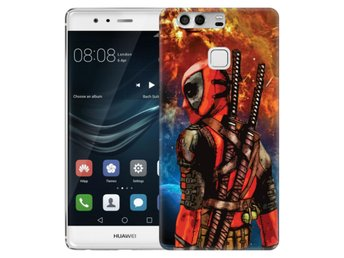 Huawei P9 Skal Deadpool Space