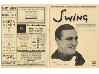 SWING Illustrerad Sport- & Filmjournal 1920 Nr 2 Årgång 1