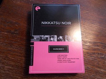 NIKKATSU NOIR Criterion Eclipse series USA 2009 Japansk Film Noir DVD region 1