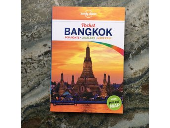 Lonely Planet reseguide pocket Bangkok