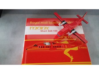 1:200 metal model-airplane Short 360-100 Royal Mail Services - NEAR MINT - RARE