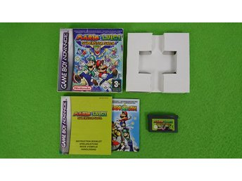 Mario & Luigi Superstar  KOMPLETT Saga Gameboy Advance Nintendo GBA