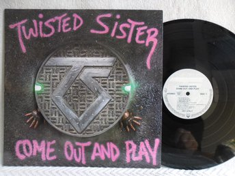 TWISTED SISTER - COME OUT AND PLAY - ATLANTIC 781 275-1