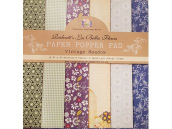 Scrapbookingpapper Vintage Meadow