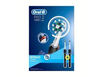 Oral B Eltandborste Pro770 CrossAc. (333396981) ᐈ Ginza på Tradera 83def260e136d