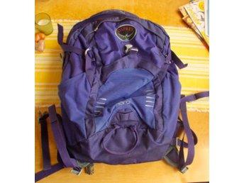 Mörklila ryggsäck Osprey Flare 24 liter (395798281) ᐈ Köp
