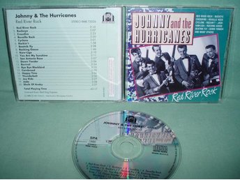 JOHNNY & HURRICANES - Red River Rock , CD ,