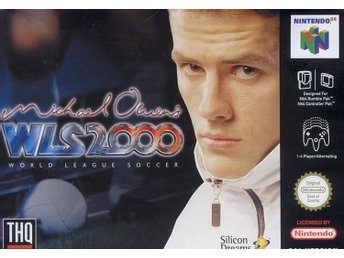 Michael Owens World League Soccer 2000 - Nintendo 64