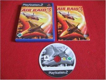 AIR RAID 3 till Playstation 2 PS2 - Blomstermåla - AIR RAID 3 till Playstation 2 PS2 - Blomstermåla