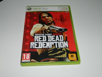 Red dead redemption   -  Xbox 360 spel