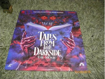 Tales from the darkside - The movie - 1st Laserdisc - Säffle - Tales from the darkside - The movie - 1st Laserdisc - Säffle