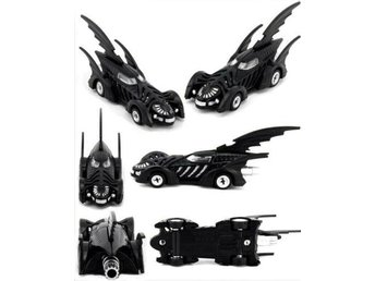 Bilar - Leksaksbil - Batman Bil Dark Knight 3 Wing Back Nice Metall NY