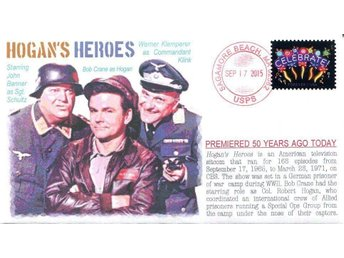 "50th Debut of TVs ""Hogan's Heroes""Event Cover"