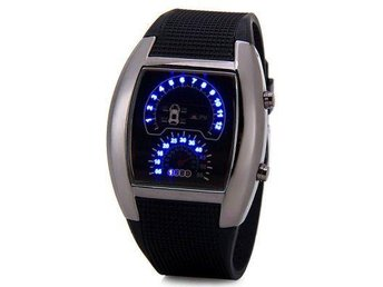 Snygg Quartz LED Bil Watch