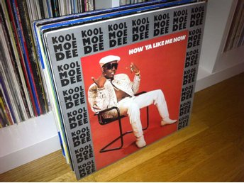 "Kool Moe Dee - How Ya Like Me Now 12"" 1987 (UK press)"