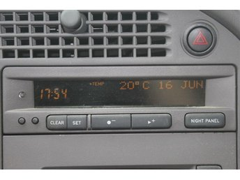 Fungerande SID 2 display SAAB 9-5 tom -02