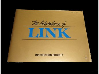 The adventures of Link NES USA Manual