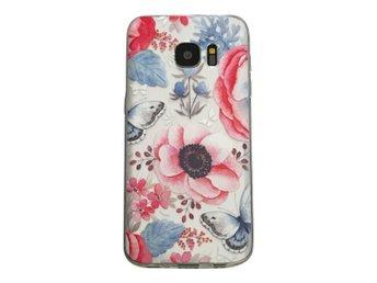Samsung Galaxy S7 EDGE Fjäril och blommor - Henna - Mjölby - Samsung Galaxy S7 EDGE Fjäril och blommor - Henna - Mjölby
