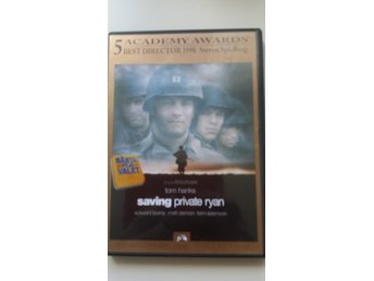 Saving Private Ryan. Svensksåld.