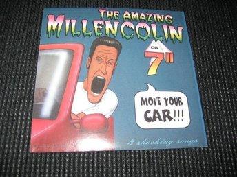 """Javascript är inaktiverat. - Rottne - Millencolin ?– Move Your Car Label: Burning Heart Records ?– BHRMoCliff005 Format:Vinyl, 7"""", Single Country:Sweden Released:23 Oct 1996 Skiva: OSPELAD Endast fraktavgift tillkommer - Rottne"""