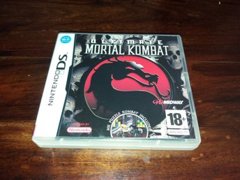 Ultimate Mortal Kombat, DS, Komplett, Fint Skick!