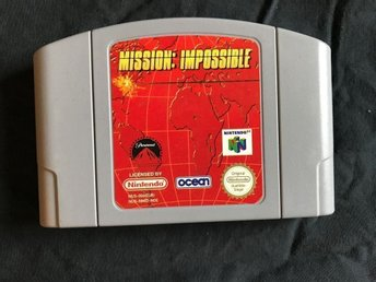 MISSION IMPOSSIBLE NINTENDO 64  NOE TYSK TEXT