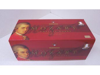Cd  Box Mozart Wolfgang Amadeus Complete works.