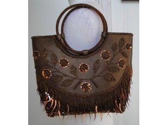 c8ac056b8d30 20-Tals paljett väska (342108563) ᐈ Köp på Tradera