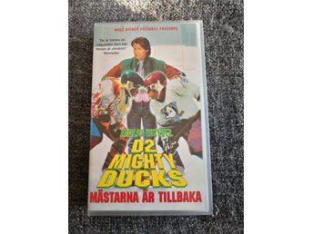 +++ D2 THE Mighty Ducks +++ VHS