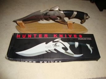 Prydnadskniv Hunter knives