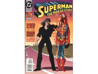 Superman the man of steel #45 1995 VF