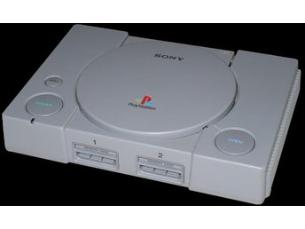 Playstation One Basenhet (Med 3:e-parts controller) - Playstation
