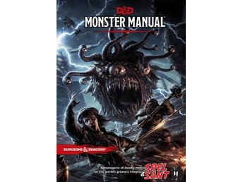 Dungeons & Dragons Monster Manual 5th Edition (Inbunden)